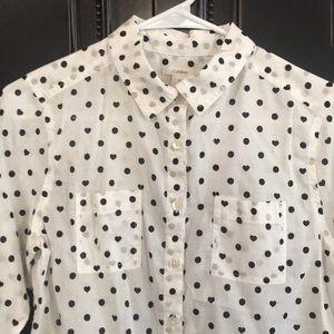 Caslon button up blouse
